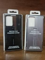 Capa Protetora Galaxy Note20 Ultra Protective Standing Preta