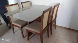Título do anúncio: Mesa de jantar safira de madeira e acabamento laka luxo
