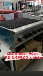 Charbroiler  90cm linha americana CHURRASCARIA
