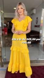 Vestido de GRife Amarelo