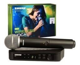 Microfone sem fio Shure - Promoção e frete grátis.