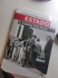 """Livro """"Estado e forma política"""""""