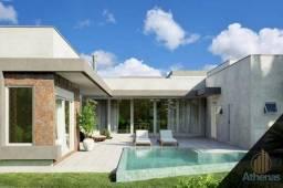Casa térrea no condomínio Florais Itália com 350m², terreno de 775,08m² em construção
