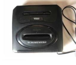 Título do anúncio: Mega Drive Original Tectoy Cartucho E Controle (ler Descrição)