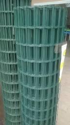 Tela Soldada Galvanizada revestida em PVC - gtipro