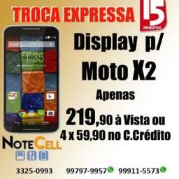 Tela para Moto X2 ( Display LCD ) - Instalação Imediata