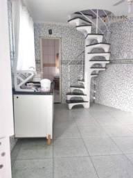 Sobrado com 1 suíte e 1 vaga para alugar, 30 m² por R$ 900/mês - Vila Guarani - Santo Andr