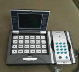 Telefone De Mesa + Calculadora + Multifunção