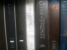 Coleção DVDs Game Of Thrones temporadas 1 a 6