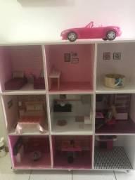 Casa da Barbie e carro
