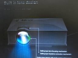 Mine Projetor 1800 Lumens Led HD 1080p