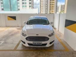 Ford Fusion, branco, 2.5 FLEX, Teto solar, 12mil km, único dono, São Luís/MA - 2016