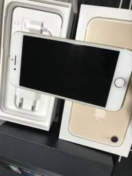 Iphone 7 Apple 128gb Dourado + Caixa Completa + Fone + Carregador