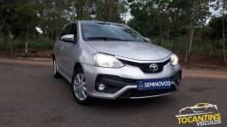 Toyota Etios XLS 1.5 automatico KM 22.000 - 2018