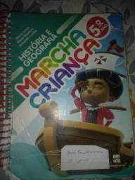 Livro de história e geografia Marcha Criança 5° ano