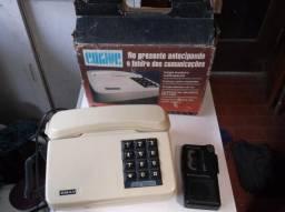 Telefone fixo que grava ligações