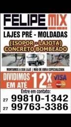 MEGA PROMOÇÃO IMPERDÍVEL DE laje e concreto bombeado