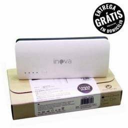 Carregador Portatil 10000 Mah Inova - 1 carga completa - Bateria Power Bank Usb