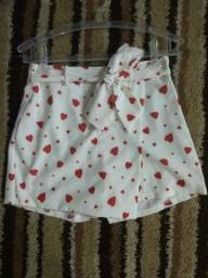 Short Saia lindo Muse 40