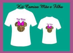 Kit Camisa Mãe e Filha