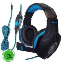 Fone headset gamer KP-451
