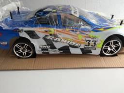 Automodelo Himoto Nascada 1/10 Motor 18cpx Combustão + Kit S