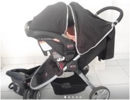 Carrinho, bebê conforto Britax Agile