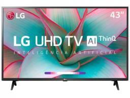 Smart TV 4K LED IPS 43? LG R$ 2.299,00 por R$2.099,00