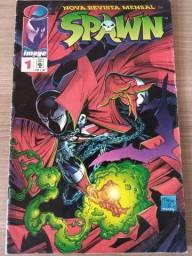 HQ - Spawn n° 1 - Editora Abril