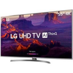 """Smart Tv LG 55"""" R$ 3.599,00 por R$2.564,05"""