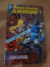 Graphic novel - crossover darkseid vs galactus