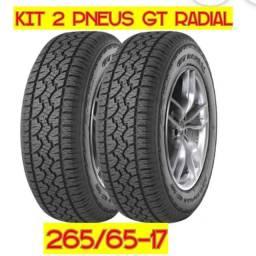 Vendo pneus 265/65-17