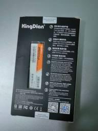 SSD m2 nvme KingDian 512gb novo!
