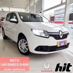 NETO - Renault Sandero Expression 1.0 2016 - 50 mil km