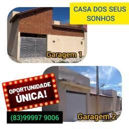 Aluga-se casa para empresa em Santa Luzia-PB