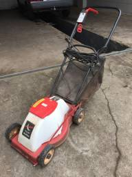 Cortador de grama elétrico com recolhedor