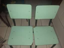 Cadeiras escolares infantil