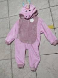 Pijama  kigurumi fantasia de bichos fofinho