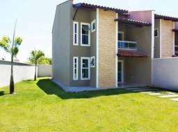 Casa Duplex 4 Suítes de Esquina no Eusébio 10 x 28 #am14