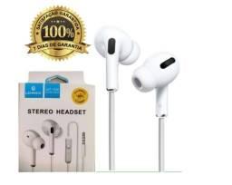 Fone de Ouvido Com Fio Alta Qualidade Com Cancelamento e Isolamento de Ruídos