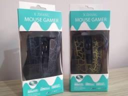 Mouse Gamer x Zhang 4 Velocidades de Dpi até 3200
