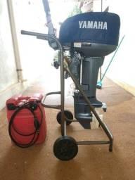 Título do anúncio: Motor de popa Yamaha 15