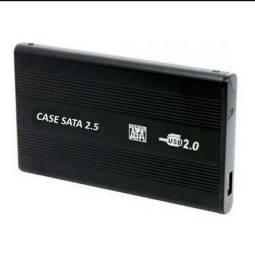 Case para hd externo notebook sata 2.5 usb pc video game
