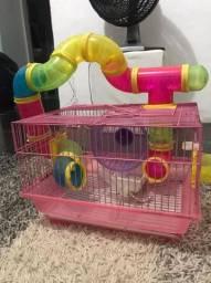 Casa completa para hamster