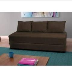 Título do anúncio: Bicama (sofá cama) em Suede+ENTREGA GRÁTIS