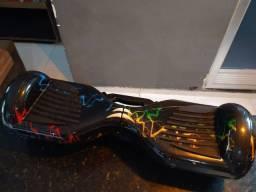 Título do anúncio: Hoverboard Skate Elétrico Com Led E Bluetooth 6,5'<br><br>