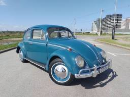 Título do anúncio: VW Fusca 1200 1965- raridade- c/ interior branco