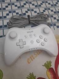 Controle nintendo Wii U Pro branco original