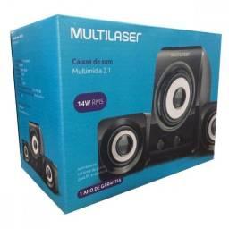 Caixa de som para computador  multilaser - sp172