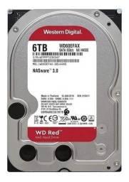 Título do anúncio: HD WD red 6 Tb